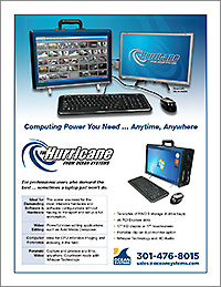 The Hurricane for Mobile Video Editing   Specifications