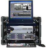 The Ocean Systems Luggable - Transportable Avid Video Editing System