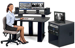 The Ocean Systems RackMount, Professional, Rackmountable Avid Video Editing System